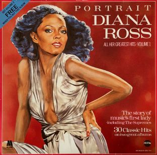Diana Ross - Portrait Volumes 1 & 2 (LP) (VG/VG-)